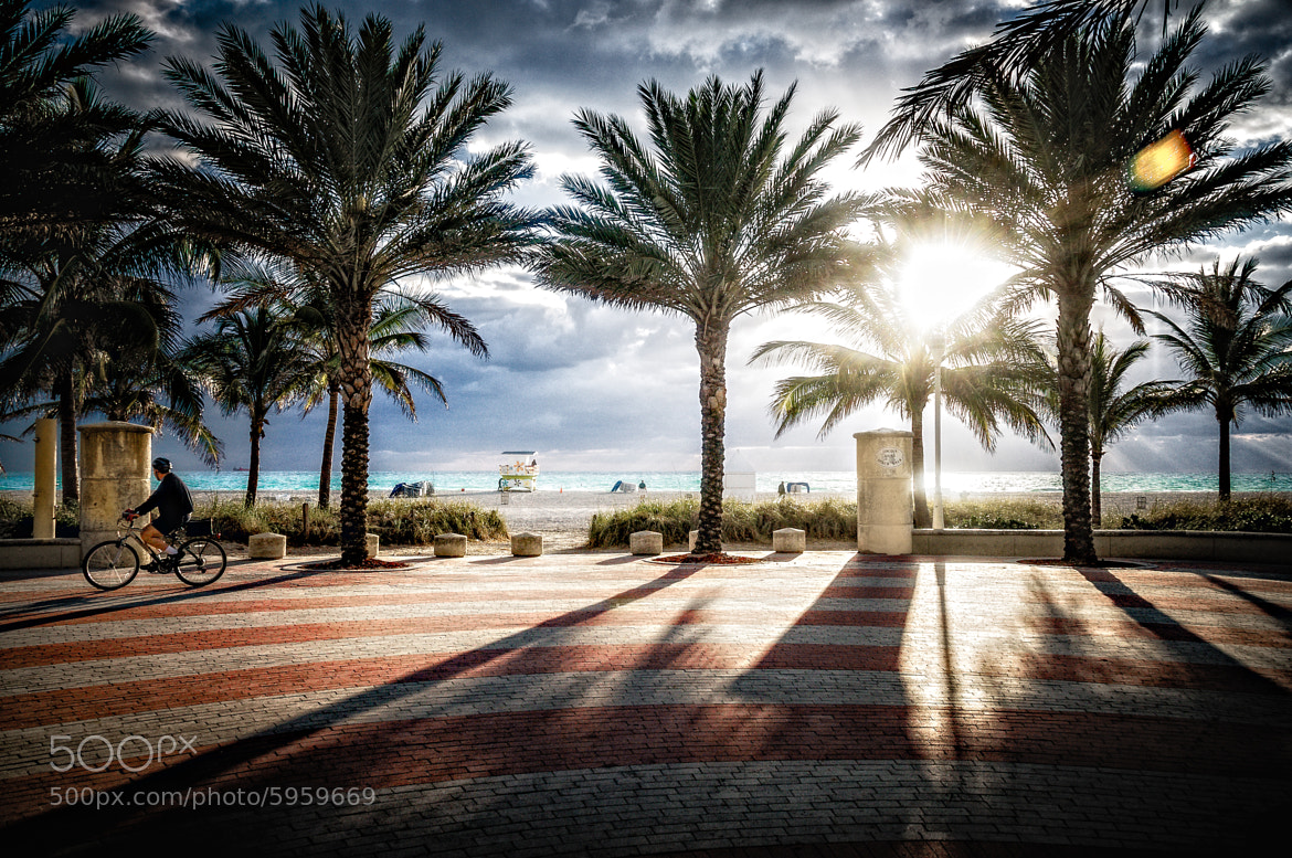 Photograph South Beach Promenade by Steve Steinmetz on 500px