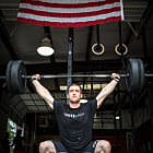 Постер, плакат: Ben Smith Overhead Squat