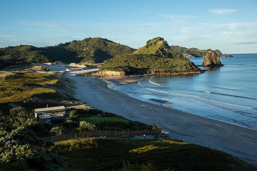 Beach house on Great barrier island
