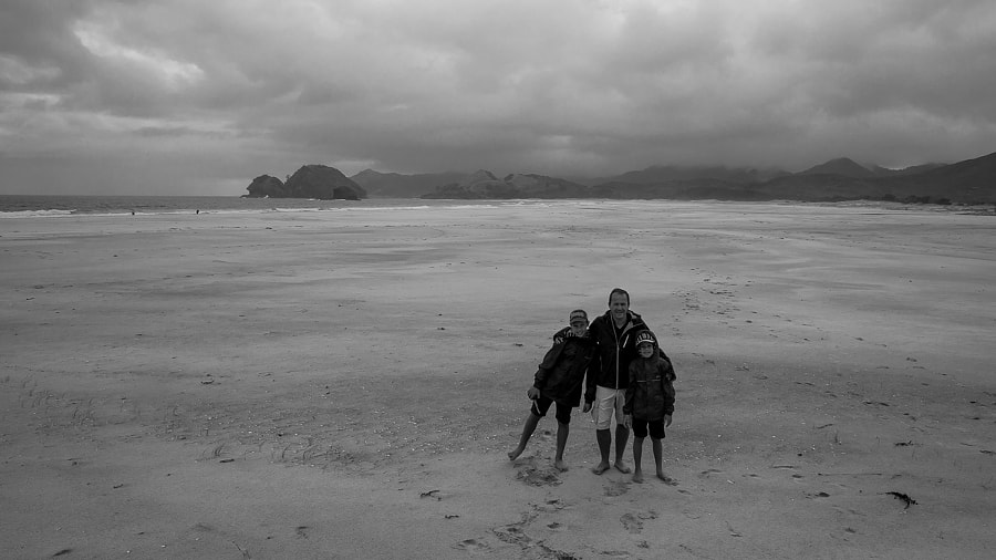The boys on Great barrier island