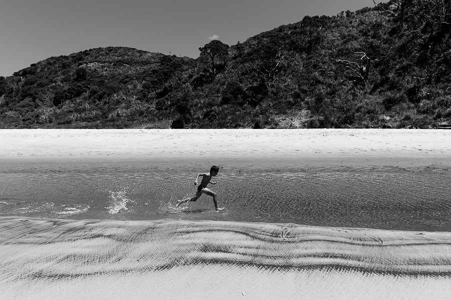 Happy days on Great barrier island