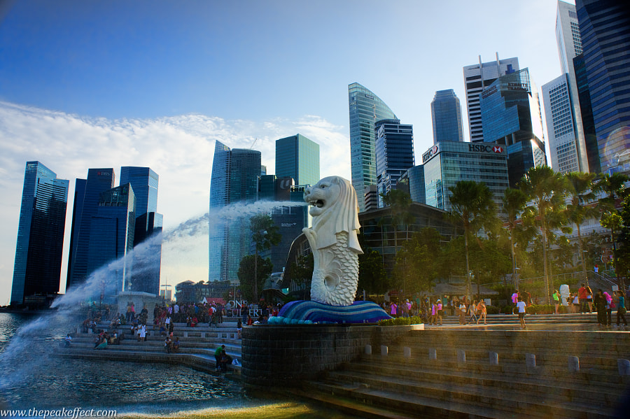 Merlion by Donato Scarano on 500px.com