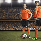 Постер, плакат: NIKE Wesley Sneijder & Klaas Jan Huntelaar Photographer Chris Lawrence