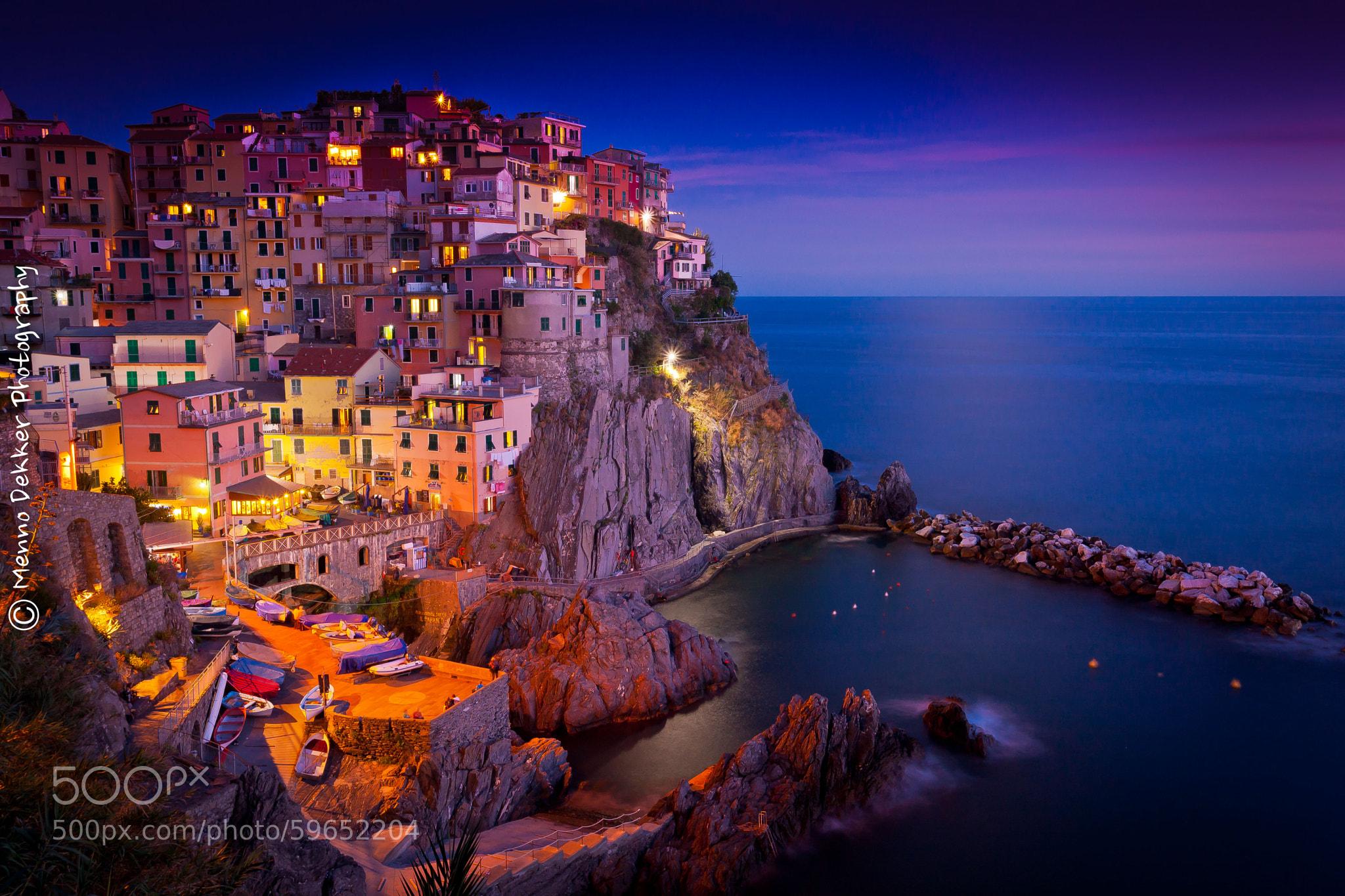 Photograph Manarola Cinque Terre Italy by Menno Dekker on 500px