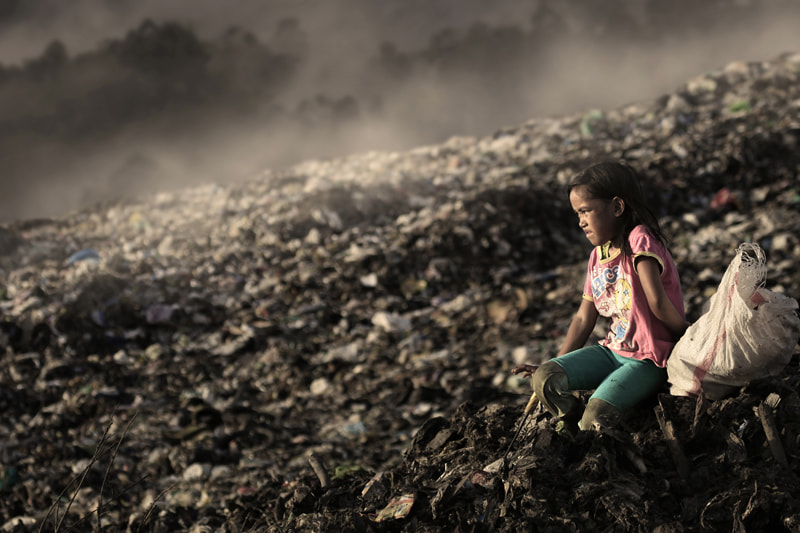 Photograph scavenger girl by Alamsyah Rauf on 500px