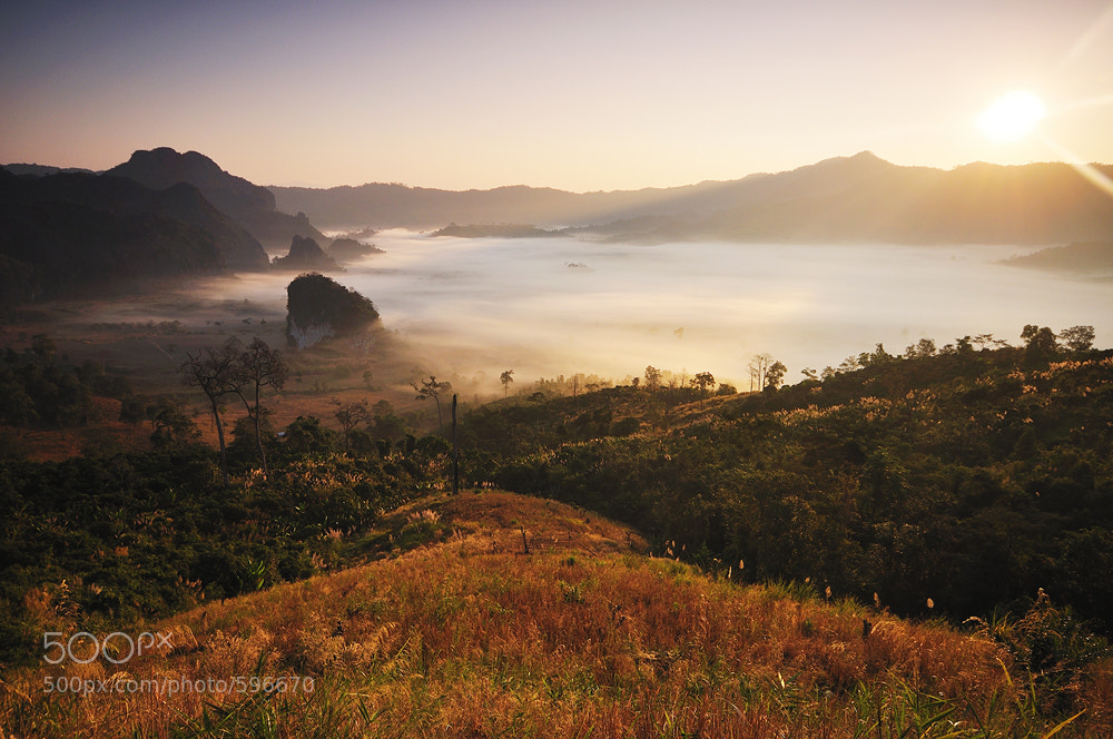 Photograph First sunrise in 2011 by Jakkijj Suriyachairadee on 500px