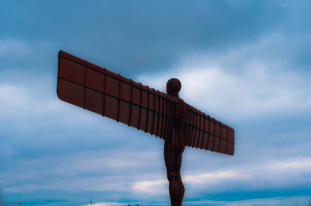 Photograph Angel of the north  by Sam Ralph on 500px