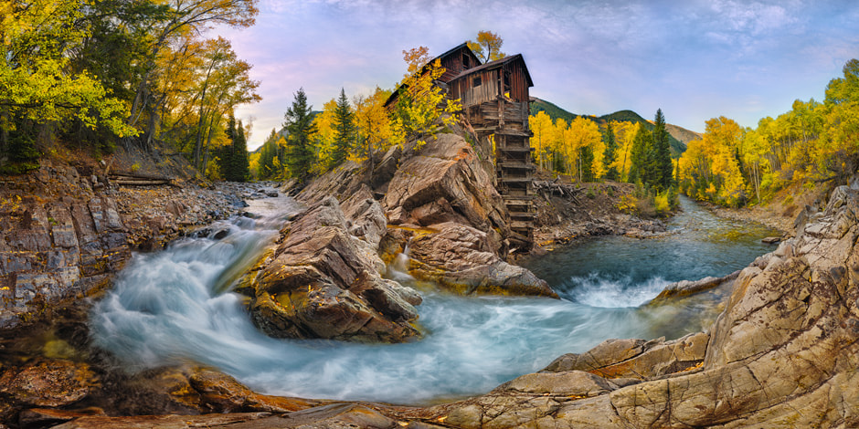 Photograph Dawn at Crystal Mill by Igor Menaker on 500px