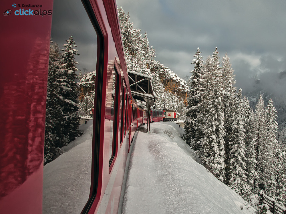 Photograph Traveling on the red train by Alfredo Costanzo on 500px