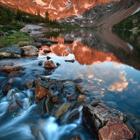Glorious Indian Peaks Alpenglow by Mike Berenson - Colorado Captures (MikeBerenson)) on 500px.com