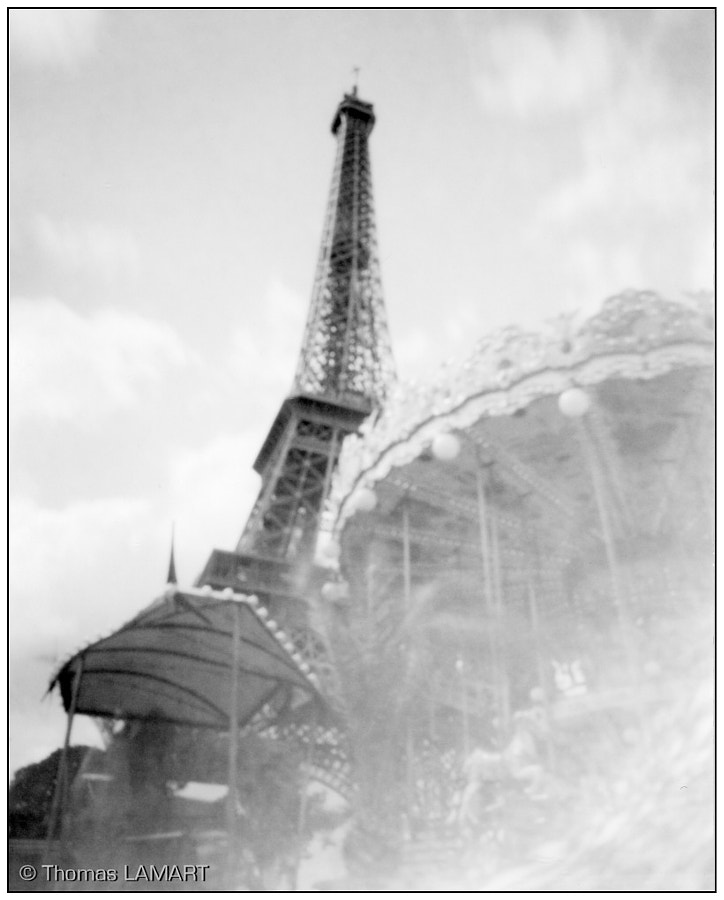 Photograph Tour Eiffel (homemade pinehole) @ Paris, France by Thomas Lamart on 500px