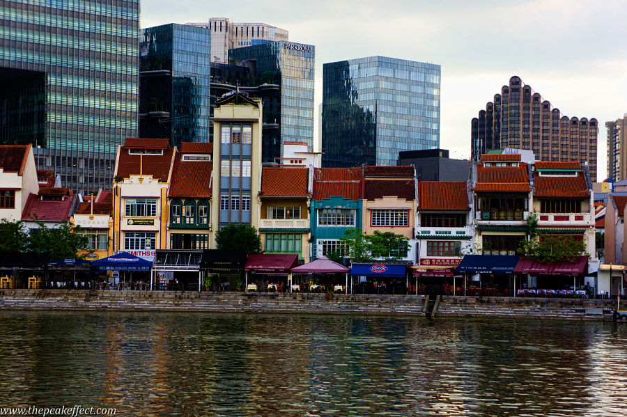 Boat Quay by Donato Scarano on 500px.com