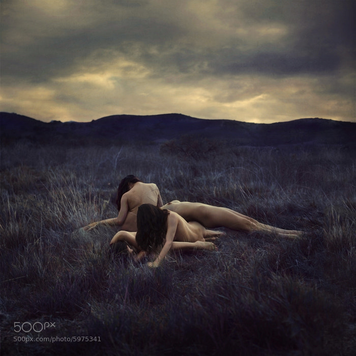 Photograph The Sleeping Mountains by Brooke Shaden on 500px