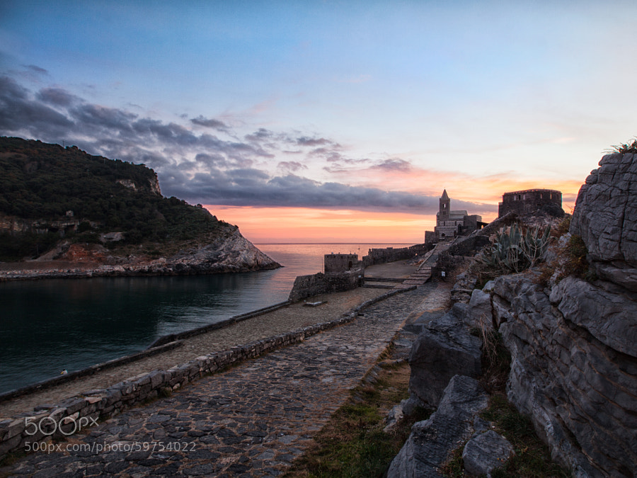 Sunset in Portovenere [extended] by Samuele Silva on 500px.com