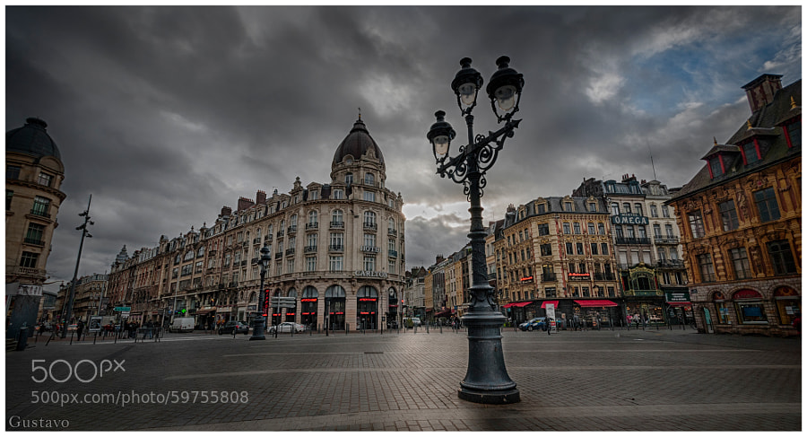 Photograph Lille by Gustavo Rodriguez on 500px