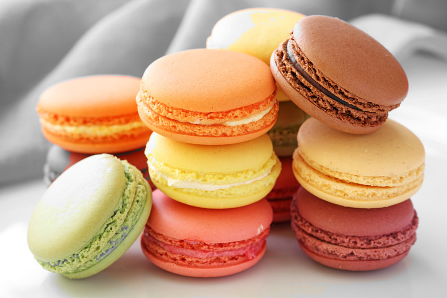 Macarons by Mariagrazia Berardo on 500px.com