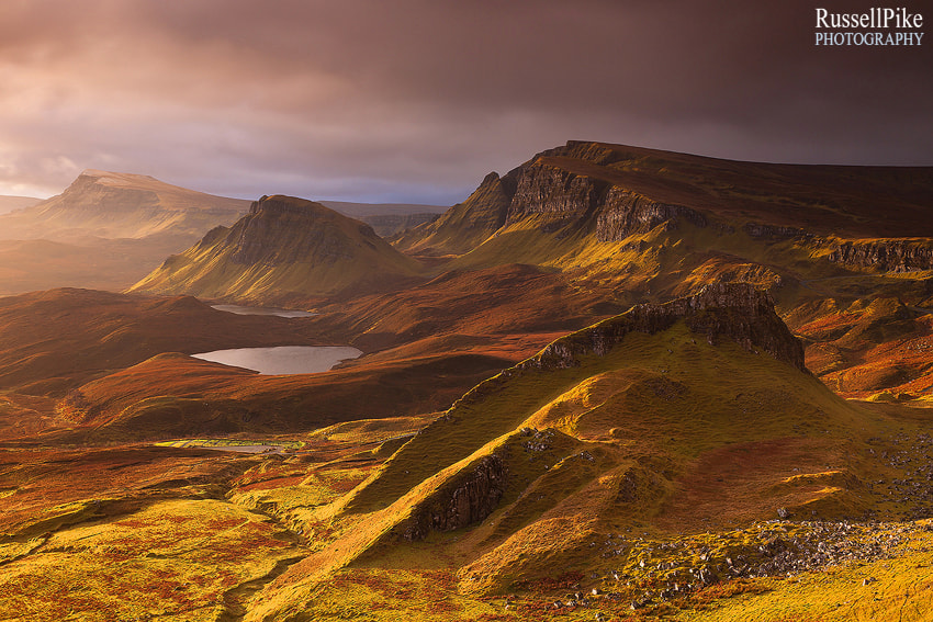 Photograph The Quiraing, Isle of Skye, Scotland by Russell Pike on 500px