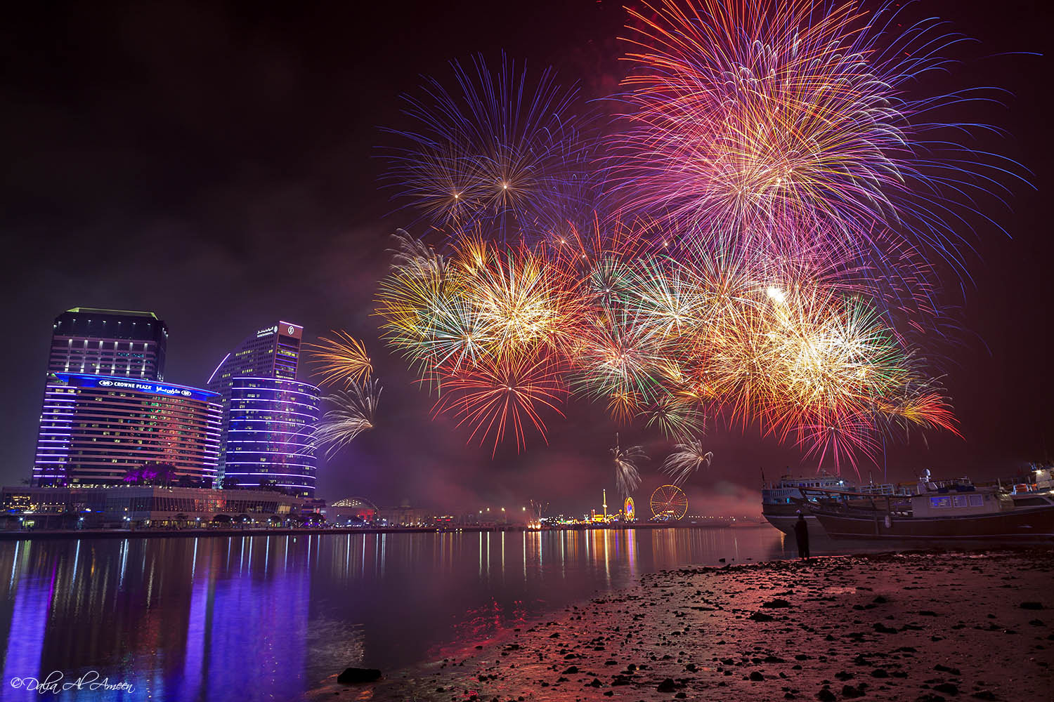 Photograph Dubai the city of celebrations by Dalia Al Ameen on 500px