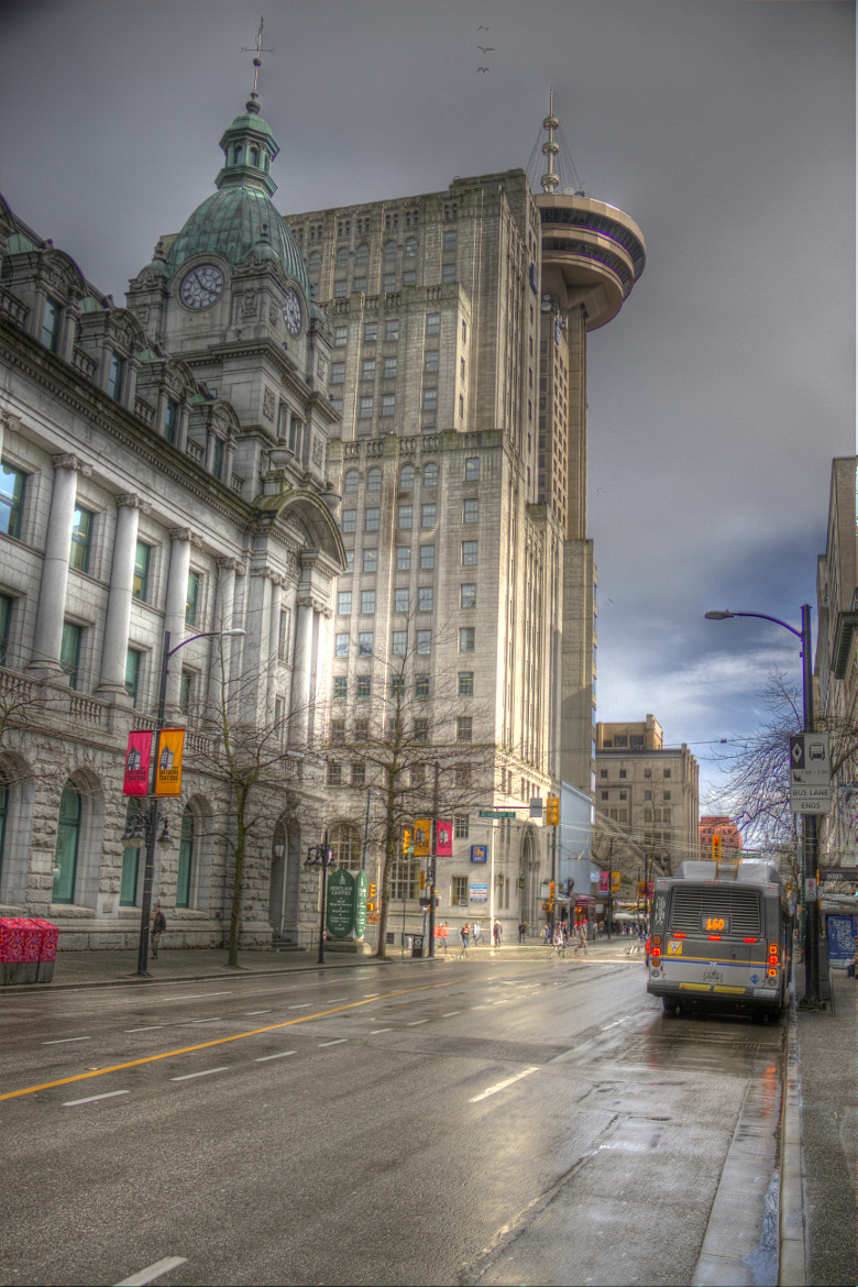 Photograph Sinclair Center and Harbour Center by Martin Grančič on 500px