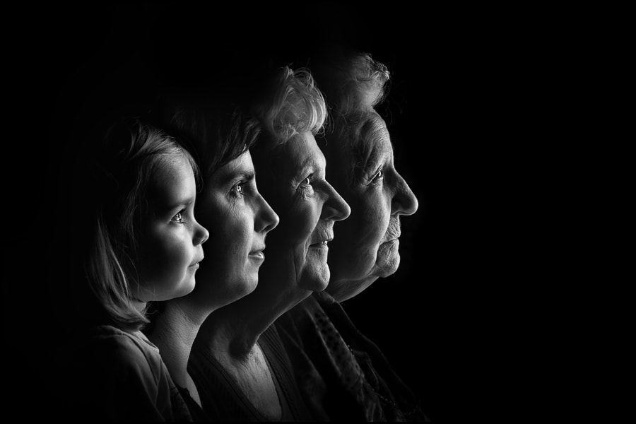 Four Generations by Mattie Aarts on 500px.com