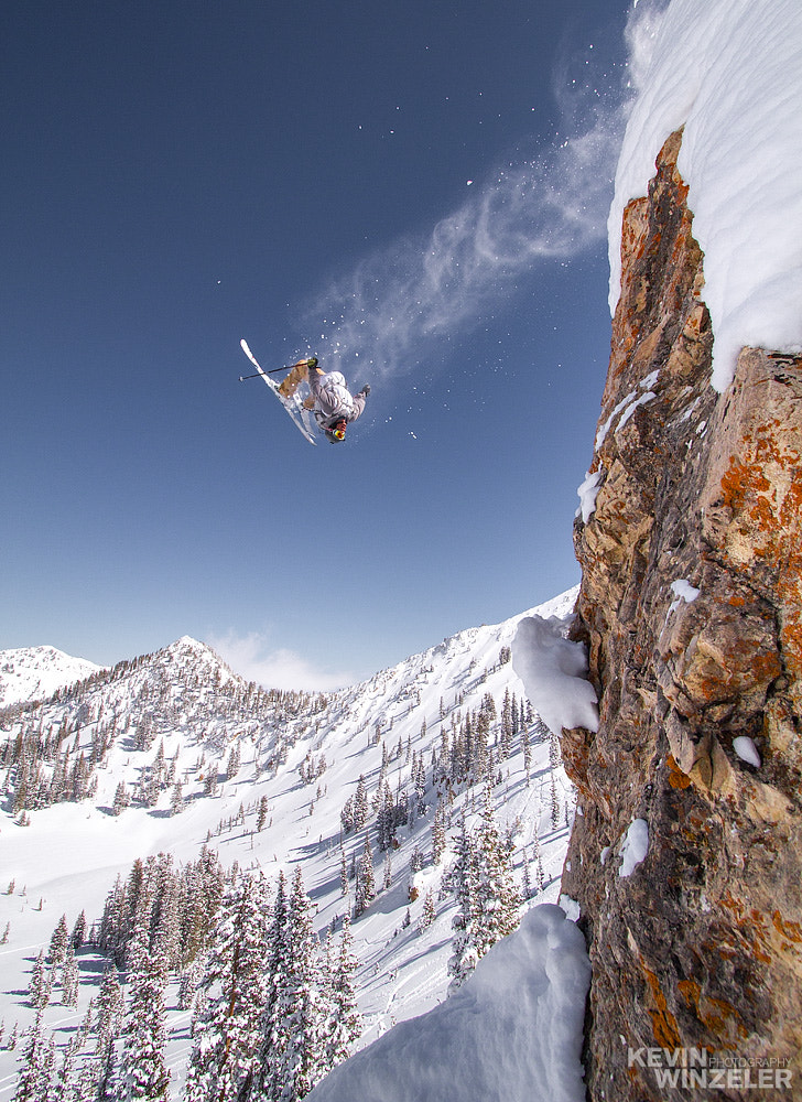 Photograph Skiing the backcountry powder by KevinWinzeler.com  ~ sports, lifestyle on 500px