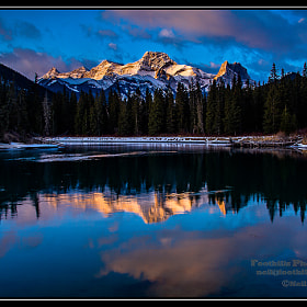 Sunrise at the Oxbow by Neil Jolly (njolly) on 500px.com