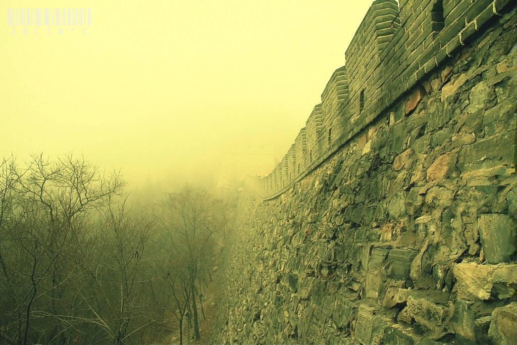 Photograph Beside the GREAT WALL of CHINA by Daniel A.S on 500px