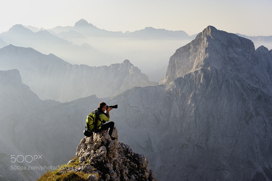Photograph ridge rider by Luka Kompare on 500px