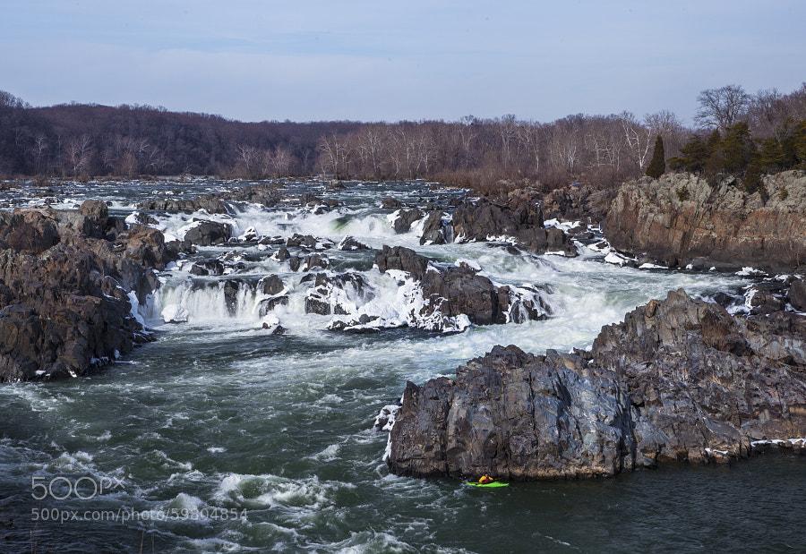 Great Falls in Winter