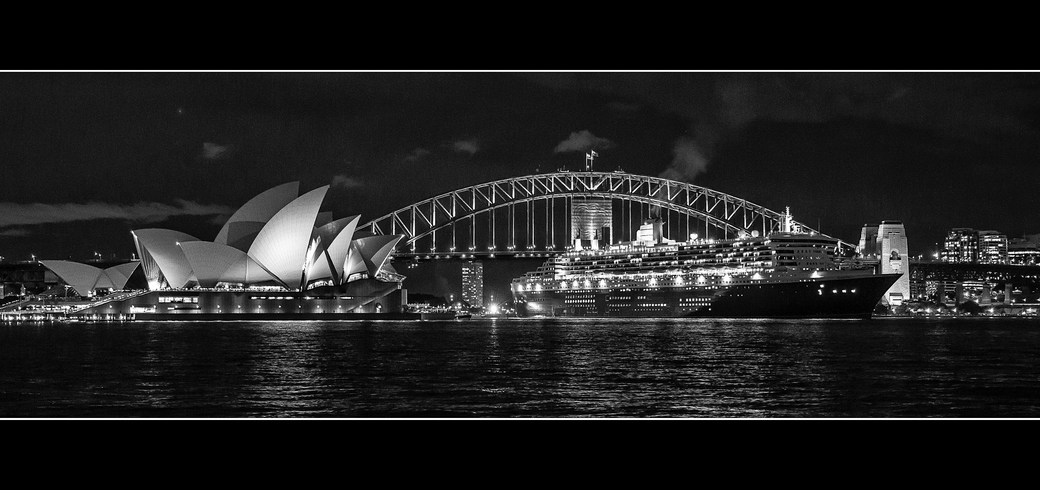 Photograph Queen Mary 2 and the Icons by Stanley Kozak on 500px