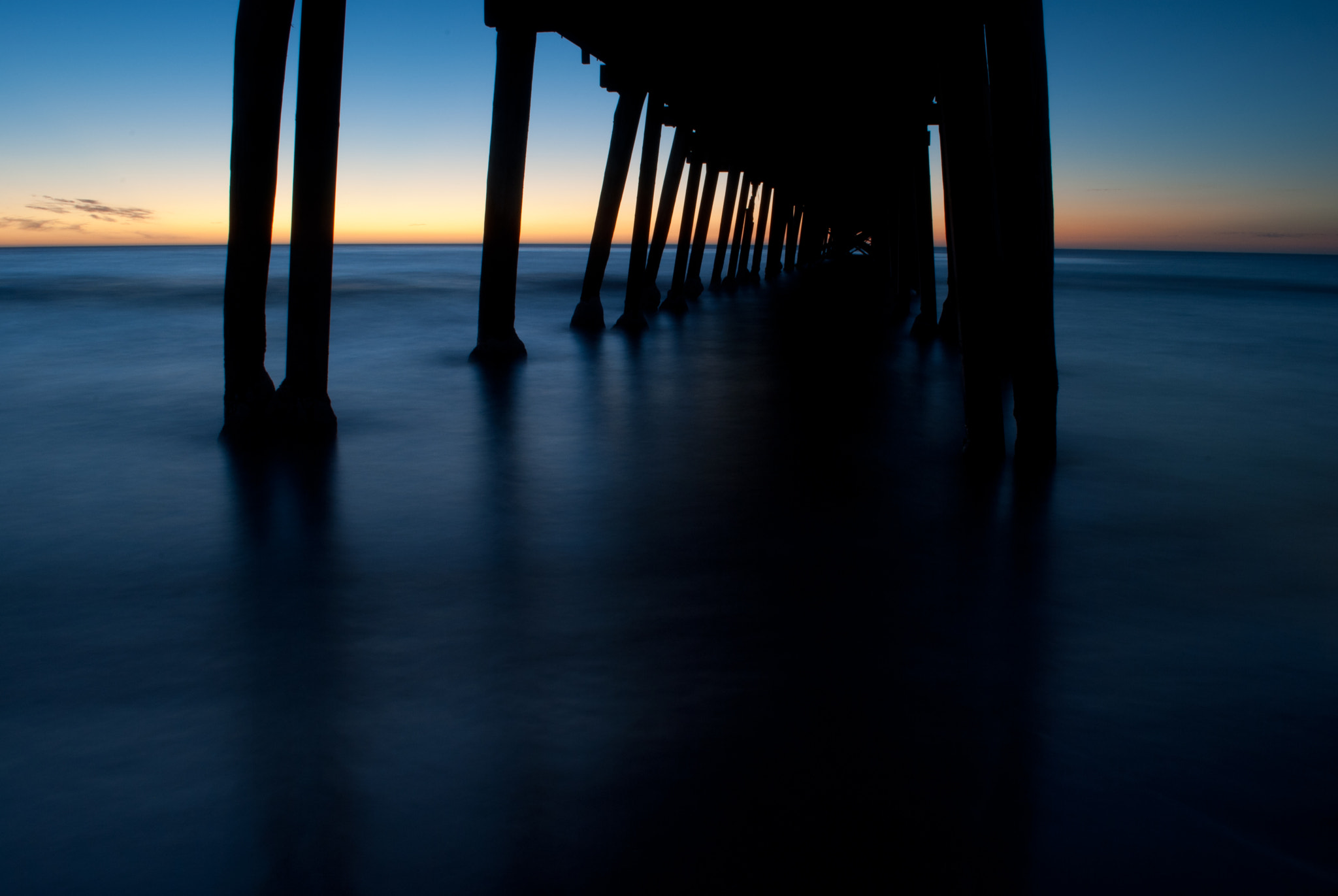 Photograph Jetty silhouette by Scott Novak on 500px