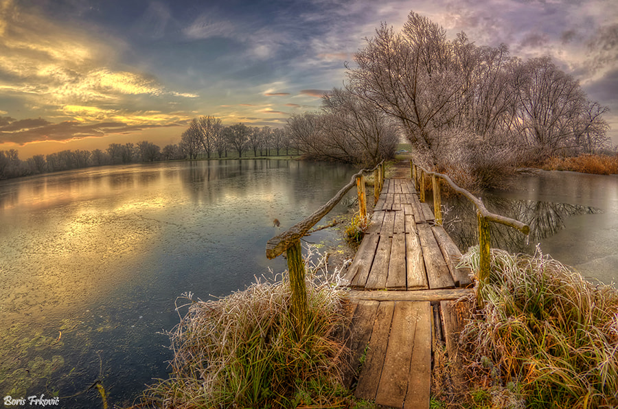 Photograph Old wooden bridge by Boris Frkovic on 500px