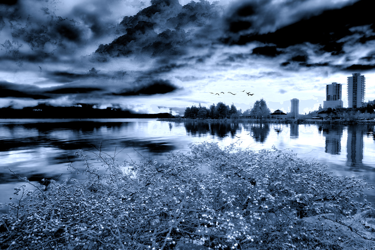 Photograph Blue Nanaimo by Mike Thompson on 500px