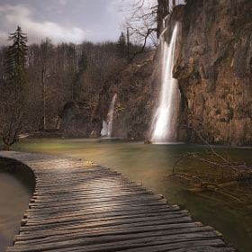 Plitvice waterfall by Ivan Prebeg (iprebeg) on 500px.com