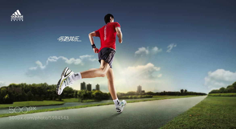 Adidas running ads