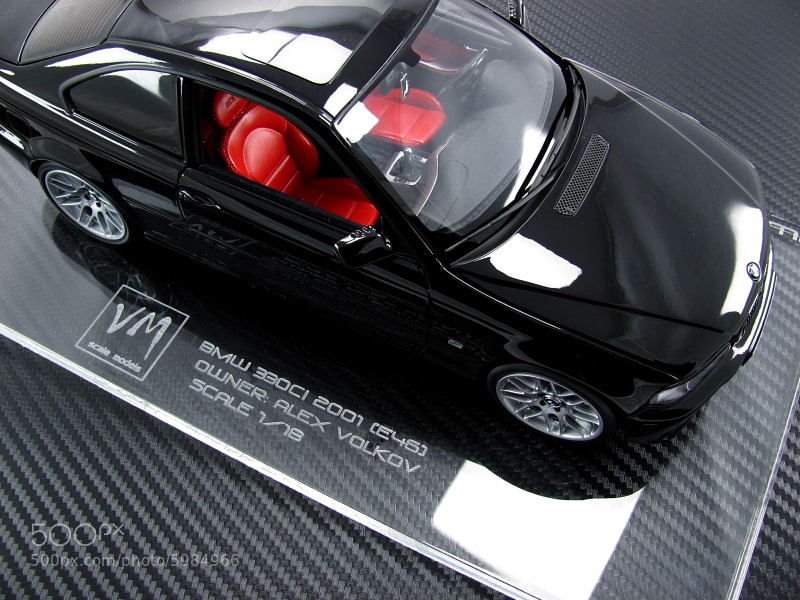 BMW 330CI 2001 (E46) scale: 1/18 kyosho / vm models