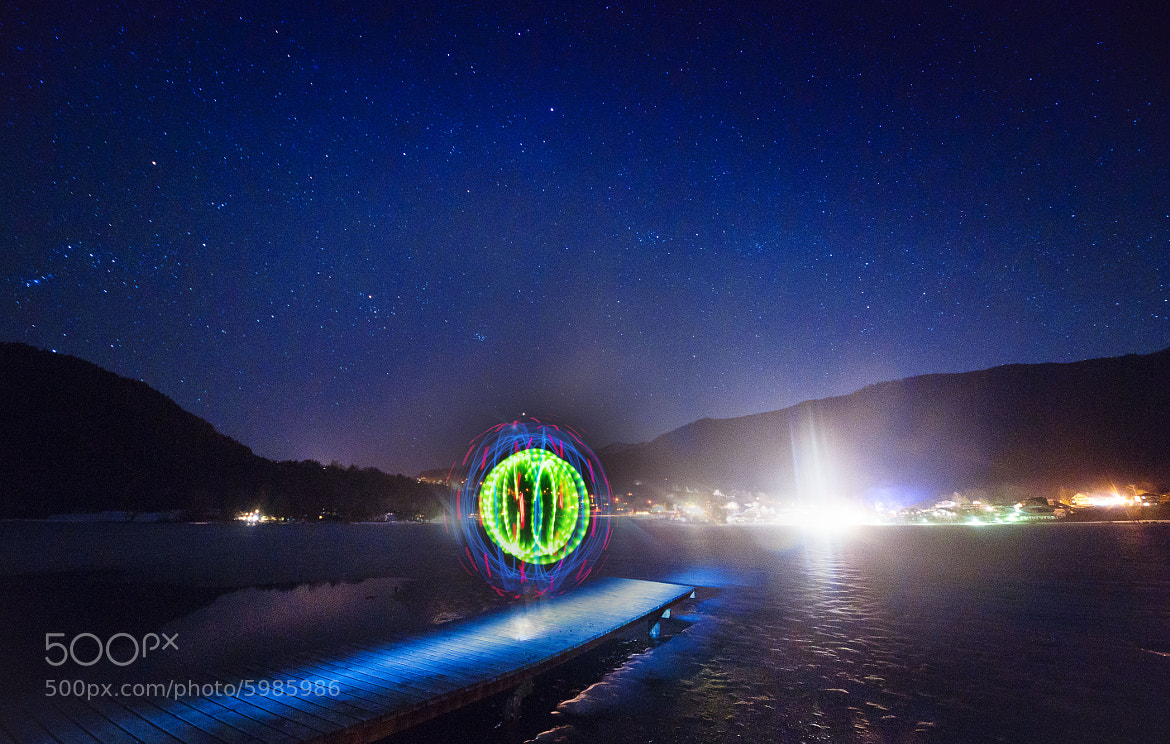 Photograph Light Performance at Thiersee 02 by Stefan Thaler on 500px