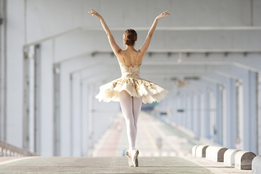 Ballerina on the street_11 by YoungGeun Kim on 500px.com
