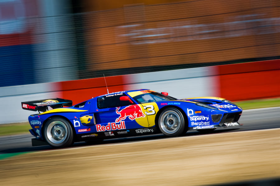 Marc Vds Red Bull Ford Gt By Jurrie Vanhalle Photo