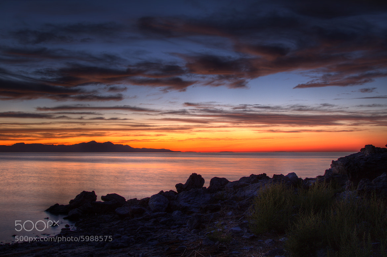 Photograph Sunset Great Salt Lake by Greg Jackson on 500px