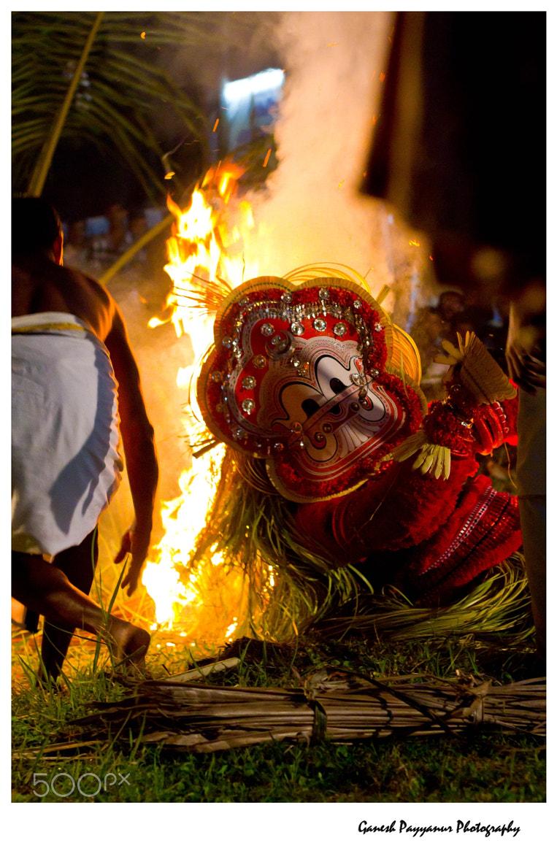 Photograph Pottan Theyyam by Ganesh Payyanur on 500px
