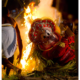 Pottan Theyyam by Ganesh Payyanur (GaneshPayyanur)) on 500px.com