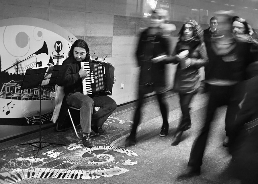 Photograph Feel the music by Timucin Toprak on 500px