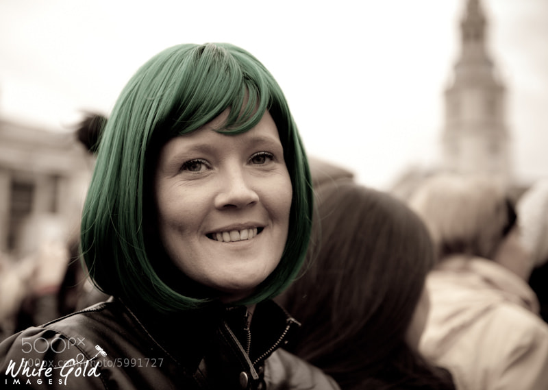 Photograph Celebrating St Patricks Day in London by Yvonne White on 500px
