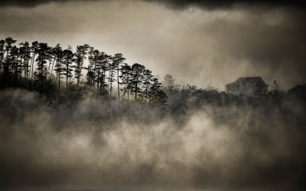 Photograph House in the mist by Johan Snyman on 500px
