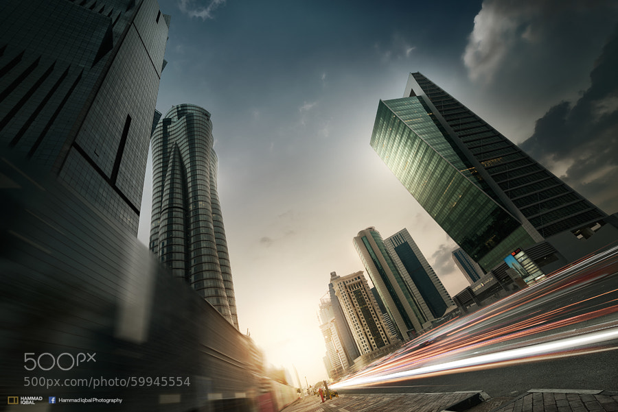 Photograph Pulsating City by Hammad Iqbal on 500px