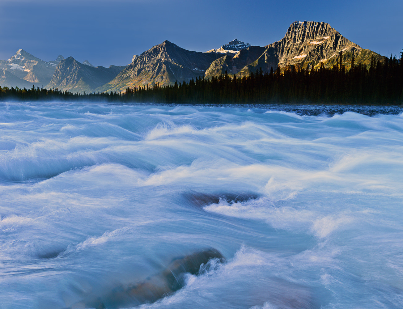 Photograph Athabasca River,Jasper National Park by William - Jeff Thomas on 500px