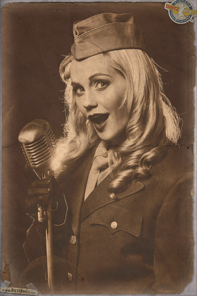 Photograph USO Singer by Britt Dietz on 500px