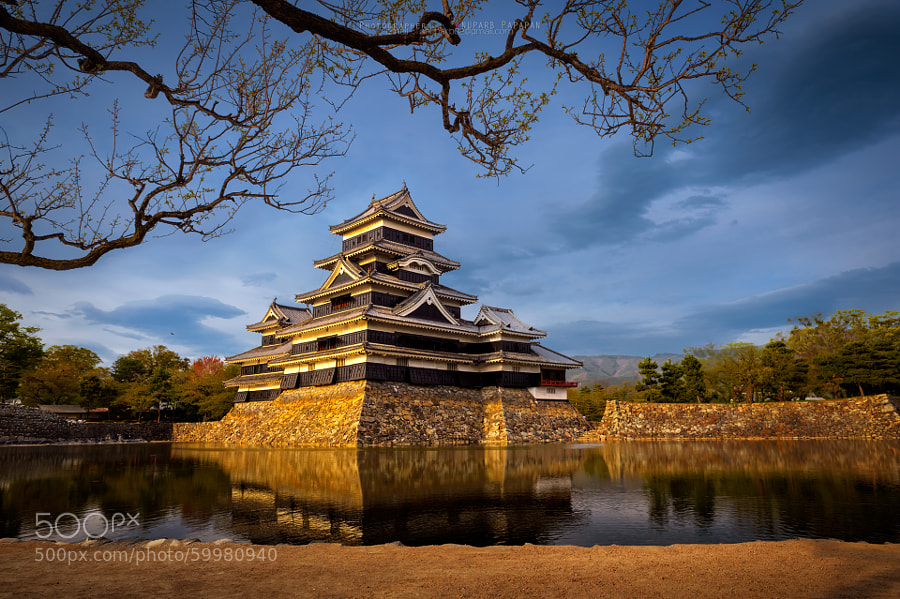 Photograph Matsumoto Castle II by Anuparb Papapan on 500px