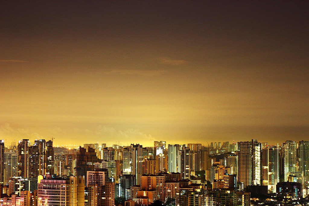 Photograph Singapore Skyline by Nickclent Neoh on 500px